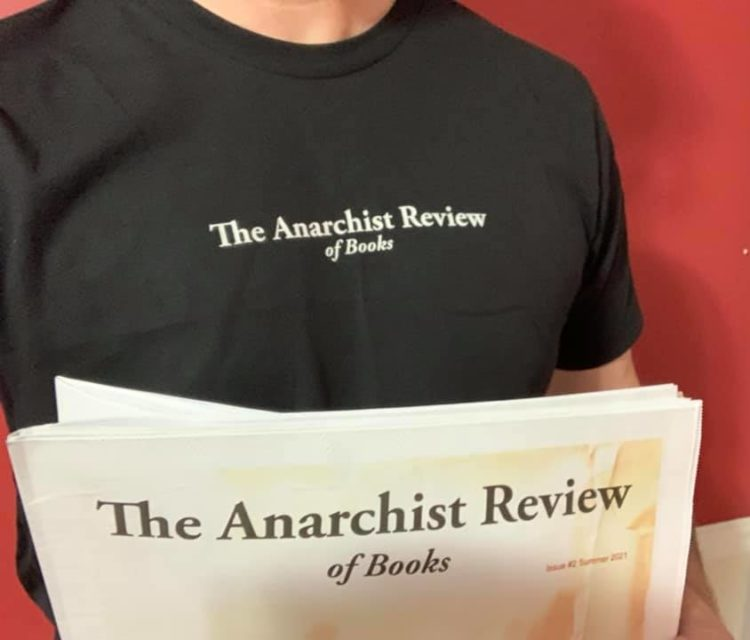 Anarchist Review of Books t-shirt